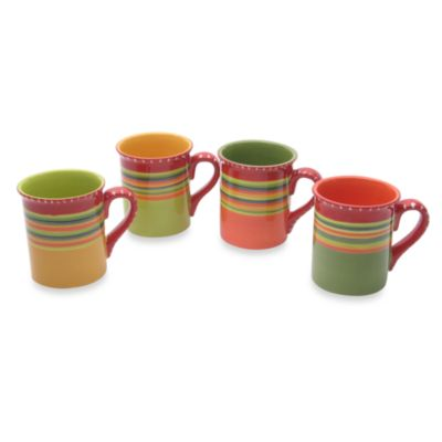 Hot Tamale 18-Ounce Mugs in (Set of 4)