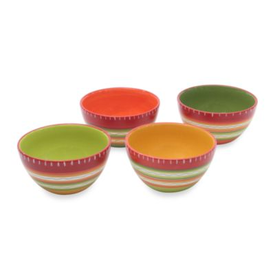 Hot Tamale 6-Inch Bowls (Set of 4)