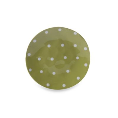 Maxwell & Williams™ Sprinkle Collection Lime 11-Inch Dinner Plate