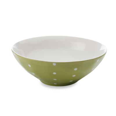 Maxwell & Williams™ Sprinkle Collection Lime 11-Inch Salad Bowl