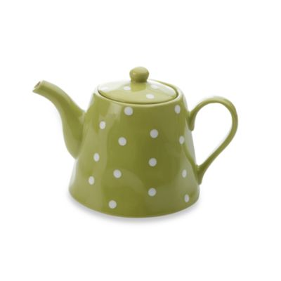 Maxwell & Williams™ Sprinkle Collection Lime 1.2-Liter 40.5-Ounce Teapot