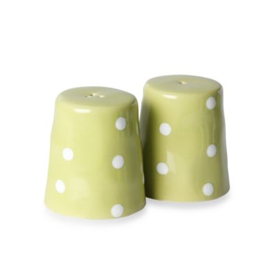 Maxwell & Williams™ Sprinkle Collection 2-Piece Lime Salt and Pepper Set