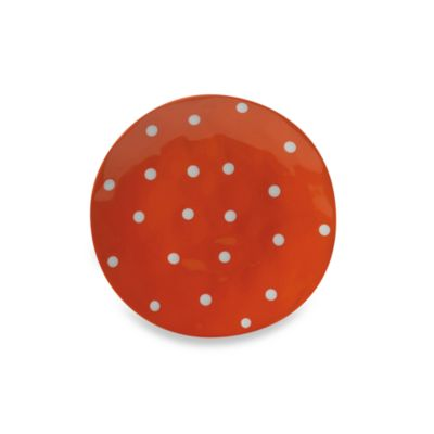 Maxwell & Williams™ Sprinkle Collection Orange 11-Inch Dinner Plate