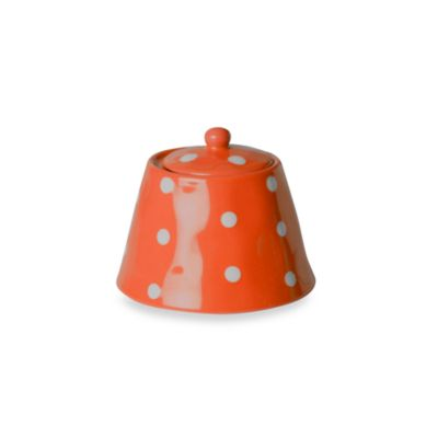 Maxwell & Williams™ Sprinkle Collection Orange Sugar Bowl