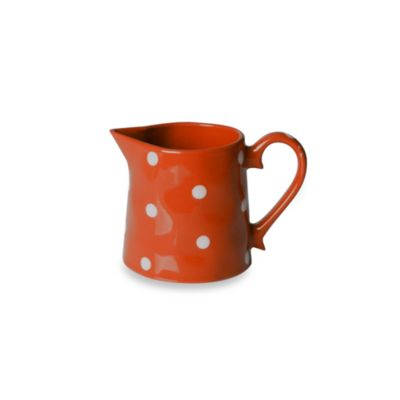 Maxwell & Williams™ Sprinkle Collection Orange 10-Ounce Creamer
