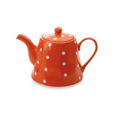 Maxwell & Williams™ Sprinkle Collection Orange 1.2-Liter Teapot