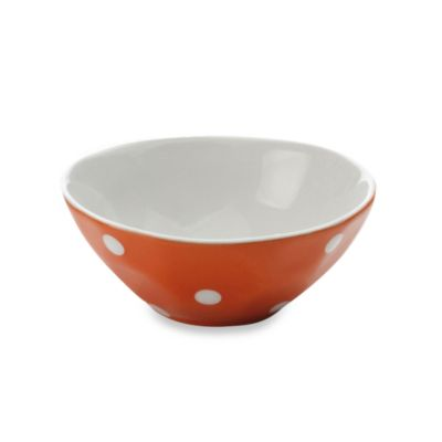 Maxwell & Williams™ Sprinkle Collection 4 1/2-Inch Round Bowl in Orange