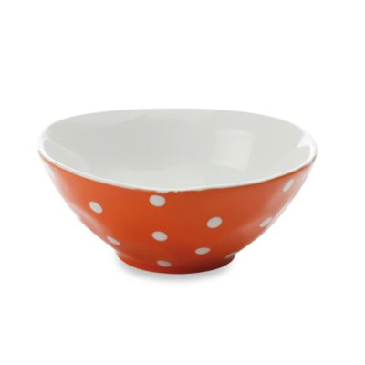 Orange Sprinkle Bowl