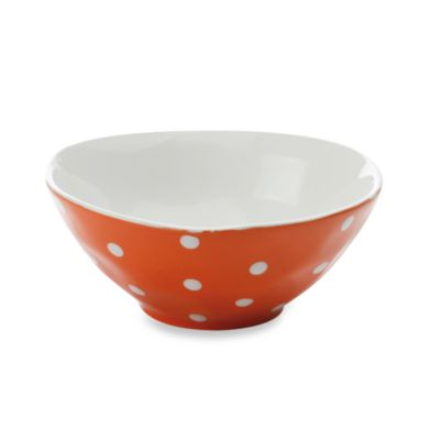 Maxwell & Williams™ Sprinkle Collection Orange 7-Inch Round Bowl