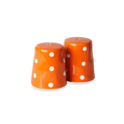 Maxwell & Williams™ Sprinkle Collection Orange Salt and Pepper 2-Piece Set