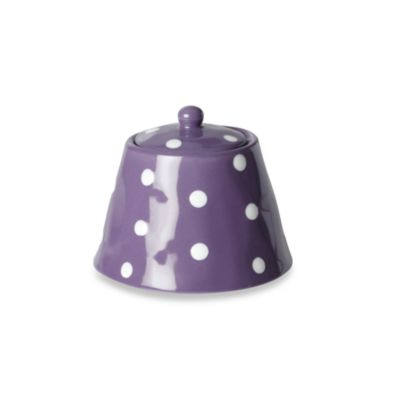 Maxwell & Williams™ Sprinkle Collection Sugar Bowl in Purple