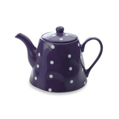 Maxwell & Williams™ Sprinkle Collection 1.2-Liter Teapot in Purple