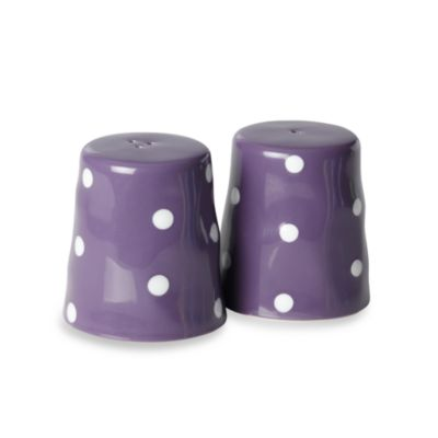 Maxwell & Williams™ Sprinkle Collection 2-Piece Purple Salt and Pepper Set
