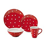Maxwell & Williams™ Sprinkle Collection Red Dinnerware