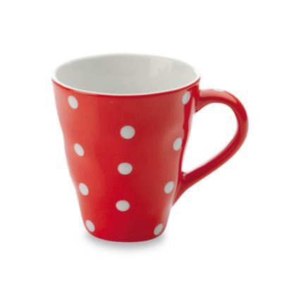 Maxwell & Williams™ Sprinkle Collection Red 12.5-Ounce Mug
