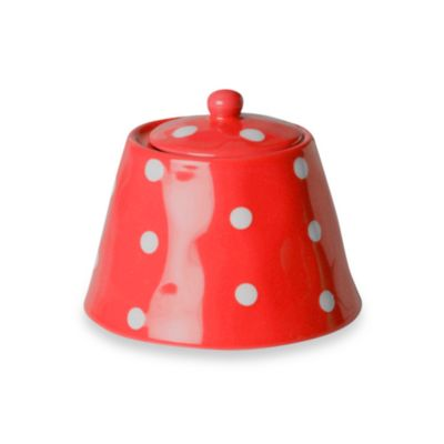 Maxwell & Williams™ Sprinkle Collection Red Sugar Bowl
