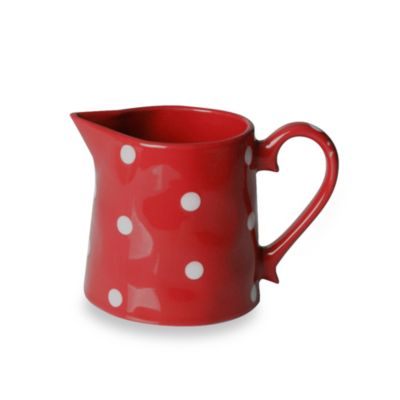 Maxwell & Williams™ Sprinkle Collection Red 10-Ounce Creamer