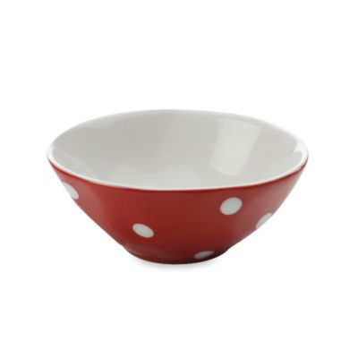 Maxwell & Williams™ Sprinkle Collection Red 4.5-Inch Round Bowl