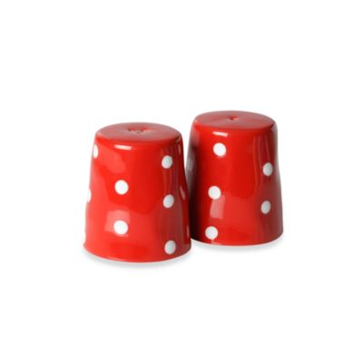 Maxwell & Williams™ Sprinkle Collection 2-Piece Red Salt and Pepper Set