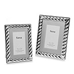 Siena Silverplated Spiral Rope Frames