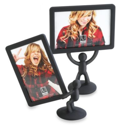 Umbra® Hercules Double Sided 4-Inch x 6-Inch Vertical Picture Frame