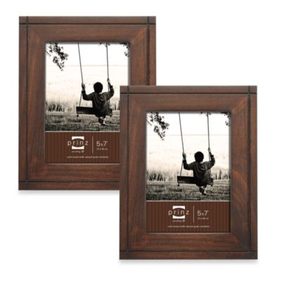Walnut Home Decor Frames