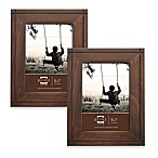 Prinz Dryden Dark Walnut Wood Frames