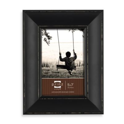 "4"" x 6 Prinz Black Wood Frame"
