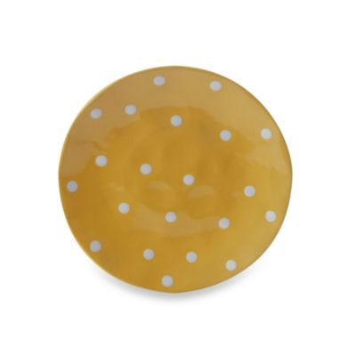 Maxwell & Williams ™ Sprinkle Collection Yellow 11-Inch Dinner Plate