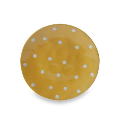 Maxwell & Williams ™ Sprinkle Collection Yellow 8-Inch Side Plate