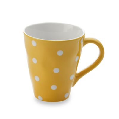 Maxwell & Williams ™ Sprinkle Collection Yellow 12.5-Ounce Mug