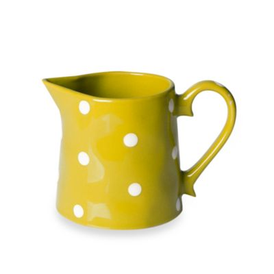 Maxwell & Williams ™ Sprinkle Collection Yellow 10-Ounce Creamer