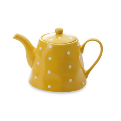 Maxwell & Williams ™ Sprinkle Collection Yellow 1.2-Liter Teapot