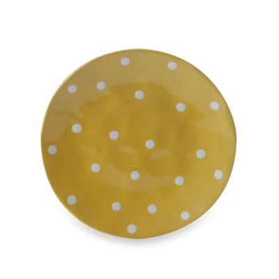Maxwell & Williams ™ Sprinkle Collection Yellow 13-Inch Round Platter