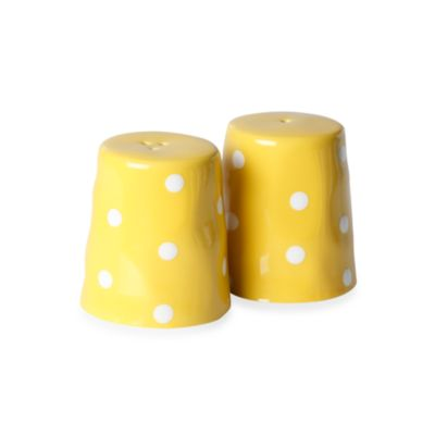 Maxwell & Williams ™ Sprinkle Collection 2-Piece Yellow Salt and Pepper Set