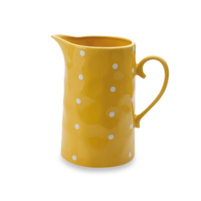 Maxwell & Williams ™ Sprinkle Collection Yellow 57-Ounce Jug