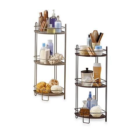 3-Tier Corner Storage Shelf