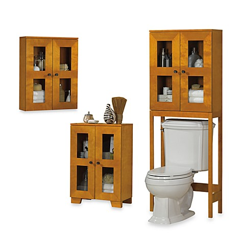 B. Smith Somerset Light Walnut Space Saving Cabinets