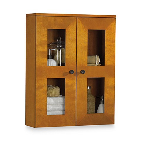 B. Smith Somerset Light Walnut Wall Cabinet