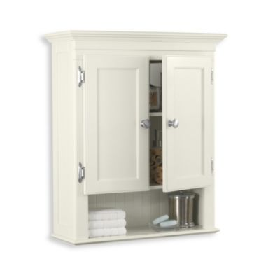 Fairmont Wall Cabinet in White