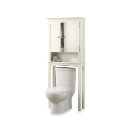 Fairmont Space Saver Bathroom Cabinet in White