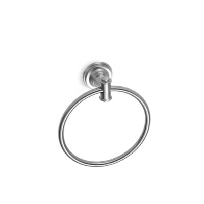 Moen Nickel Towel Ring