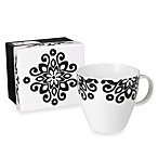 Black Scroll Mug and Gift Box Set