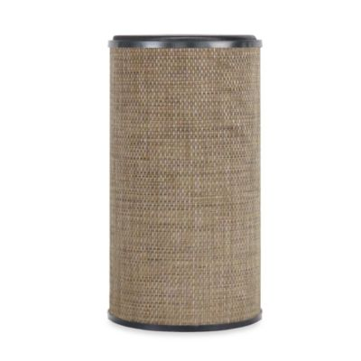 Lamont Home® Roxie Round Hamper in Brown