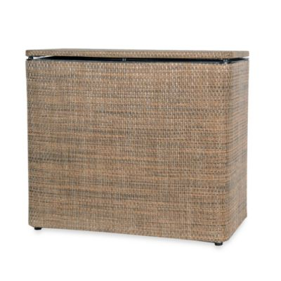 1530 Lamont Home Roxie Bench Hamper in Brown