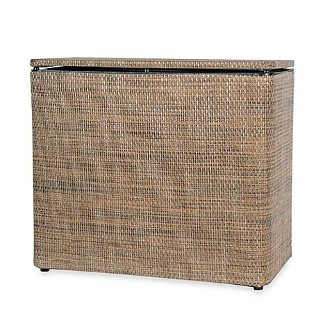 Lamont Home® Roxie Bench Hamper in Brown