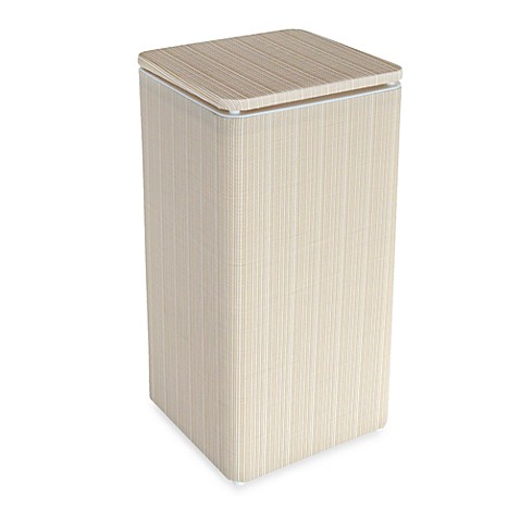 1530 Lamont Home Raine Apartment Hamper in White/Ivory