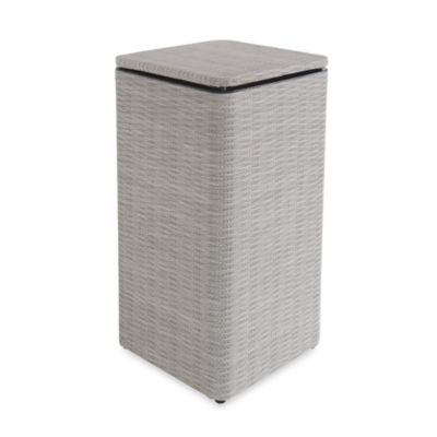 1530 Lamont Home Aiden Apartment Hamper in Taupe