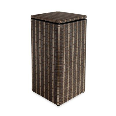 Lamont Home® Barton Apartment Hamper in Black/Brown