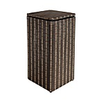 1530 Lamont Home Barton Apartment Hamper in Black/Brown